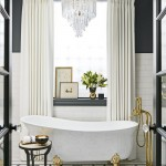 дизайн ванной комнаты с душевой лофт