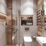 дизайн ванной комнаты с встроенной душевой