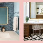 дизайн ванной с туалетом и стиральной