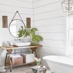 дизайн ванной в черно белых тонах