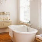 дизайн ванной в серых тонах современный стиль
