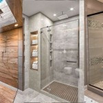 дизайн ванны комнаты с душевой кабиной