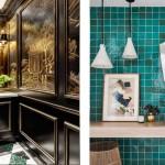 дизайн ванны комнаты совмещенной с туалетом