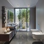 дизайн ванны с душевой кабиной и туалетом