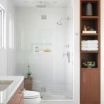 дизайн ванны в бежевых тонах современный стиль