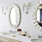 дизайн ванны в черно белом стиле