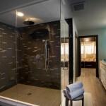 дизайн ванных комнат с душевой ширмой