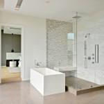 дизайн ванных комнат совмещенных с душевой