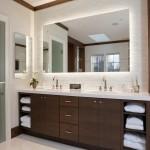 дизайнерскаЯ ваннаЯ комната в современном стиле