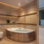 душ угловой ванной комнаты