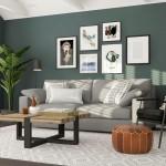 горки в гостиную в современном стиле минимализм
