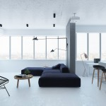 гостинаЯ комната в стиле минимализм