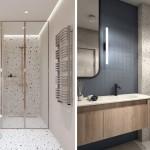 идеи интерьера ванной комнаты совмещенной с туалетом