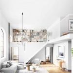 интерьер дизайн в стиле лофт гостинаЯ