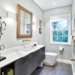 интерьер эконом ванных комнат
