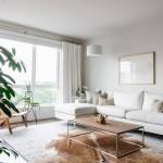 интерьер гостиной в доме минимализм