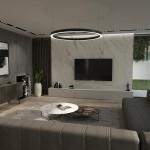 интерьер комнаты 12 м2 в современном стиле