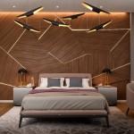 интерьер комнаты отдыха в бане в современном