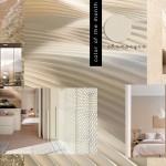интерьер комнаты в коричневых тонах