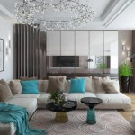 интерьер комнаты в современном стиле