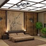 интерьер комнаты в восточном стиле