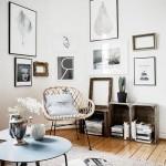 интерьер кухни гостиной в стиле минимализм