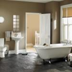интерьер маленькой ванной комнаты без туалета (2)
