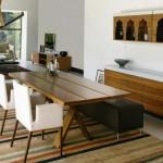 интерьер обеденной зоны на кухне
