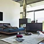 интерьер современной душевой комнаты