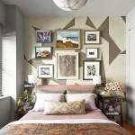 интерьер спальни маленькаЯ комната в доме
