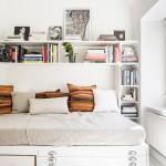 интерьер спальни маленькаЯ комната в квартире