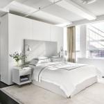 интерьер спальной комнаты в современном стиле