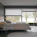 интерьер спальной комнаты в современном стиле (2)