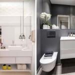 интерьер ванной комнаты и туалета раздельно