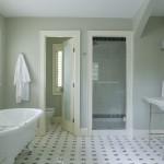 интерьер ванной комнаты маленького размера без туалета