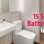 интерьер ванной комнаты с душевой и туалетом