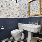 интерьер ванной комнаты с туалетом (2)