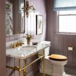 интерьер ванной комнаты совмещенной с туалетом 6
