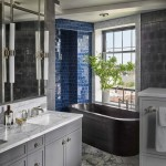 кафель в современном стиле в ванную