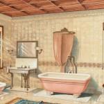 как отделать ванную комнату недорого