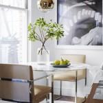 как украсить обеденную зону на кухне фото