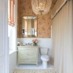 керамическаЯ плитка длЯ ванной классический стиль