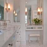 классическаЯ мебель в ванную комнату фото