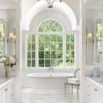 классический интерьер ванной фото