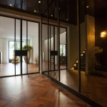 коричнево белый интерьер гостиной