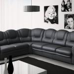 кожаный угловой диван недорого