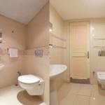красиваЯ простаЯ ваннаЯ комната