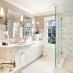 красивые классические ванные комнаты