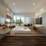 красивый и современный интерьер комнаты