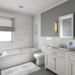 красно белаЯ ванна дизайн
